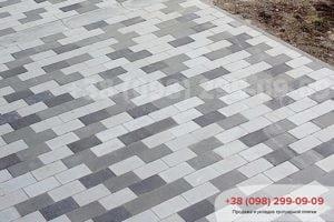 Тротуарная плитка Тротуарная плитка «Кирпич без фаски» (200Х100Х60)