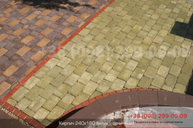 Тротуарная плитка Антик - 14
