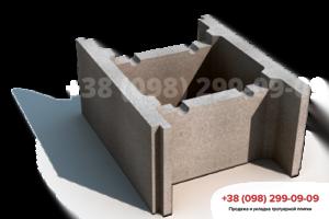 Строительные блоки Блок бетонный несъемной опалубки