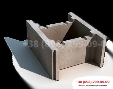 Blok betonnyj nesemnoj opalubki