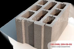 Строительные блоки Блок большой М75 (396х250х190)