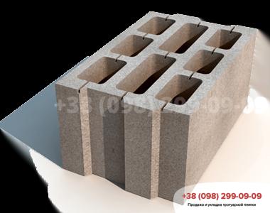 Блок большой М75 (396х250х190)фото 1