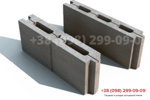 Строительные блоки Блок простеночный М75 (500X80X190)
