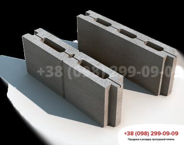 Блок простеночный М75 (500X80X190)фото 1