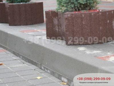 Борт дорожный (1000X150X300)фото 1