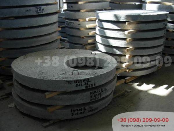 Доставка железобетонных колец - 1