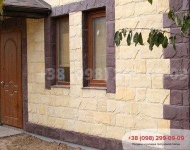 Фасадный камень Сланецфото 1