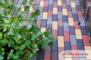 Тротуарная плитка Кирпич узкий (210X70X60)