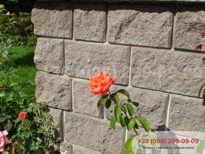 Колотый блок (400Х200Х200)фото 1