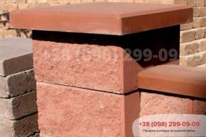 Блоки для забора Крышки на забор и столбики