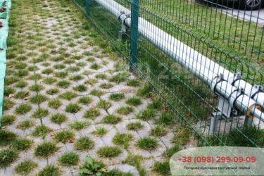 Тротуарная плитка парковочная решетка - 10