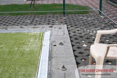 Тротуарная плитка парковочная решетка - 3