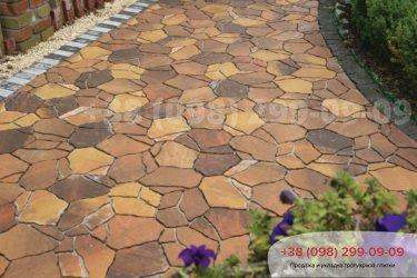 Тротуарная плитка Песчаник - 1