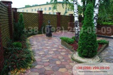 Тротуарная плитка Песчаник - 12