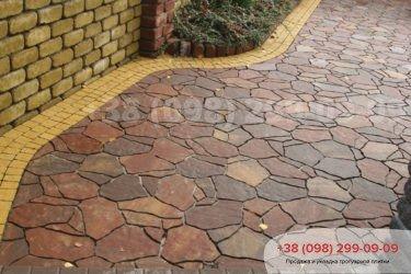 Тротуарная плитка Песчаник - 18