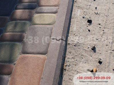 Поребрик с паз-гребнем (1000Х200Х60)фото 1