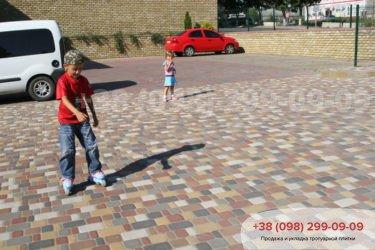 Тротуарная плитка Старый город - 16