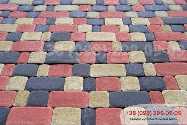 Тротуарная плитка Старый город - 26