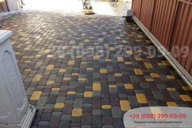 Тротуарная плитка Старый город - 27