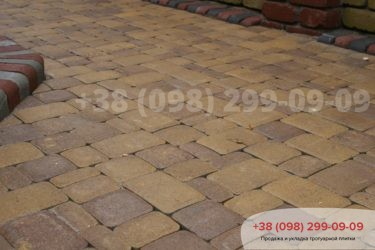 Тротуарная плитка Старый город - 33