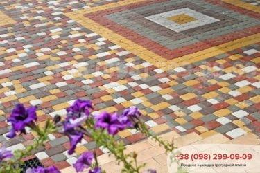 Тротуарная плитка Старый город - 34