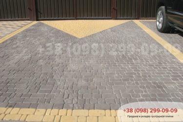 Тротуарная плитка Старый город - 42