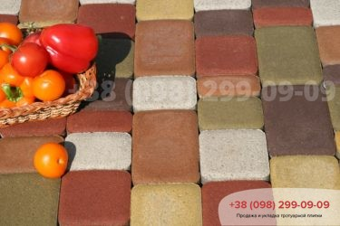 Тротуарная плитка Старый город - 44