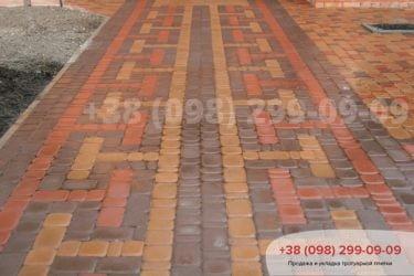 Тротуарная плитка Старый город - 58