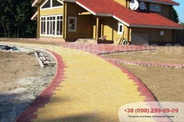 Тротуарная плитка Старый город - 62