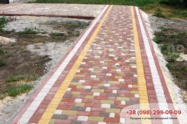 Тротуарная плитка Старый город - 74