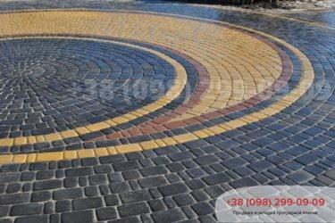 Тротуарная плитка Старый город - 75