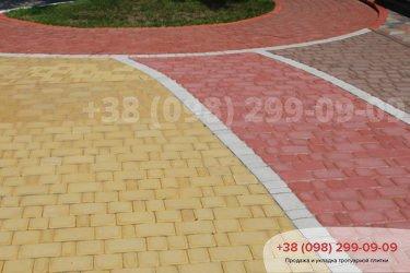 Тротуарная плитка Старый город -
