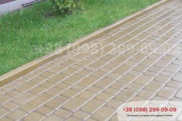 Укладка тротуарной плитки в Белогородке - 10