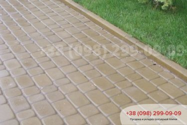 Укладка тротуарной плитки в Белогородке - 11