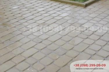 Укладка тротуарной плитки в Белогородке - 12