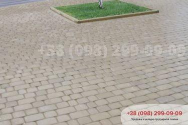 Укладка тротуарной плитки в Белогородке - 22