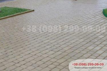 Укладка тротуарной плитки в Белогородке -