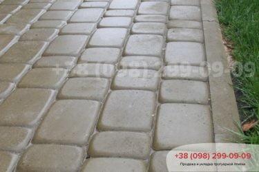Укладка тротуарной плитки в Белогородке - 1