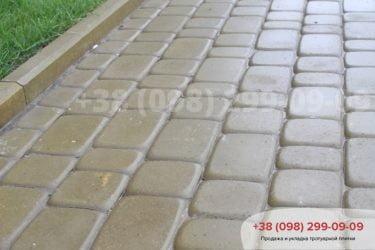 Укладка тротуарной плитки в Белогородке - 2