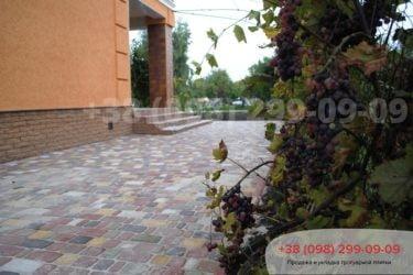 Тротуарная плитка на ул. Охотничья - 10