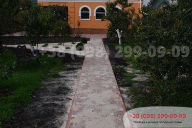 Тротуарная плитка на ул. Охотничья - 2