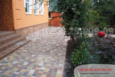 Тротуарная плитка на ул. Охотничья - 13