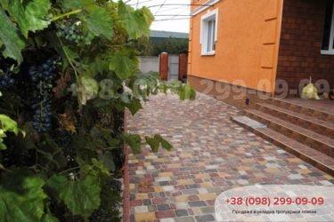 Тротуарная плитка на ул. Охотничья - 14