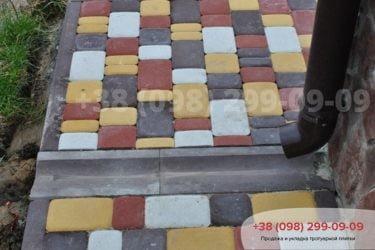 ТротуарнаяплитканаВосточнойул.Фото