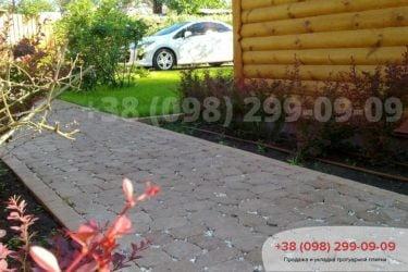 Тротуарная плитка в Козине. Фото - 5