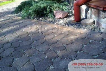 Тротуарная плитка в Козине. Фото - 15