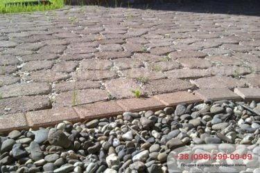 Тротуарная плитка в Козине. Фото - 24