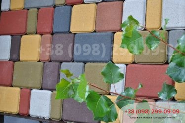 Выставка тротуарной плитки - 25