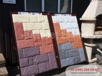 Фасадный камень Сланецфото 2