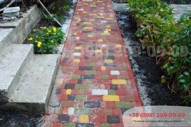 Садовая дорожка фото 1